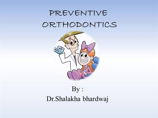 Preventive orthodontics authorstream toneelgroepblik Image collections