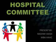 HOSPITAL COMMITTEE