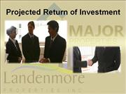MONDAVI Return Of Investment Presentation