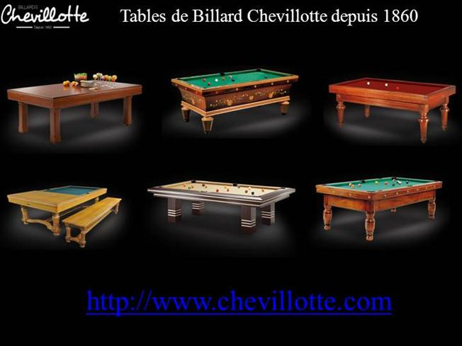 table de billards modles moderne chevillotte authorstream