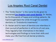 Los Angeles Root Canal Dentist 2-25-13