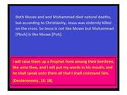 Jesus is not like Moses but Muhammad is like Moses 1 (2)