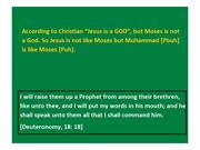 Jesus is not like Moses but Muhammad is like Moses 1 (4)
