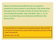 Jesus is not like Moses but Muhammad is like Moses 1 (11)