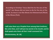 Jesus is not like Moses but Muhammad is like Moses 1 (5)