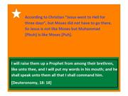 Jesus is not like Moses but Muhammad is like Moses 1 (6)