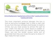 Online Payday Loans no Fees