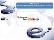 SEO Services Benefit for better website traffice and online business