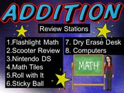 addition review stations