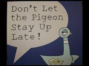 don't let the pigeon book