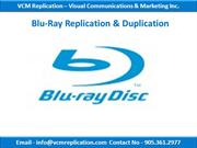 SD Card Replication & Duplication | Toronto, Ontario | VCM Replication