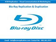 USB Duplication Services | Toronto, Ontario | VCM Replication