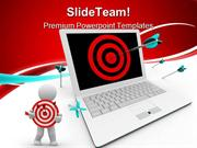 Targeted_On_Computer_Business_PowerPoint_Templates_And_PowerPoint_Back