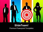Targeted_Teamwork_Business_PowerPoint_Templates_And_PowerPoint_Backgro