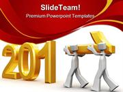 Team_Celebrating_New_Year_2011_Future_PowerPoint_Templates_And_PowerPo