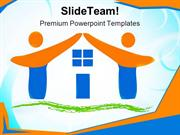 Team_Made_House_Family_PowerPoint_Templates_And_PowerPoint_Backgrounds