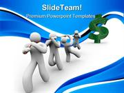 Team_Pulling_A_Dollar_Sign_Leadership_PowerPoint_Templates_And_PowerPo