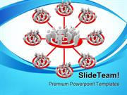 Targeted_Flowchart_Business_PowerPoint_Templates_And_PowerPoint_Backgr