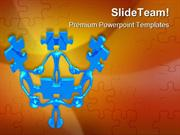 Teamwork_Puzzle_Leadership_PowerPoint_Templates_And_PowerPoint_Backgro