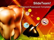 Teeth_And_Surgical_Hammer_Dental_Health_PowerPoint_Templates_And_Power