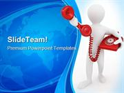 Telephone_Receiver_Communication_PowerPoint_Templates_And_PowerPoint_B