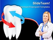 Tooth_With_Blue_And_Red_Arrows_Dental_PowerPoint_Templates_And_PowerPo