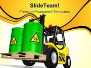 Toxic_Waste_Truck_Transportation_PowerPoint_Templates_And_PowerPoint_B