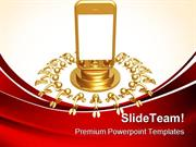Touch_Screen_Cell_Phone_Technology_PowerPoint_Templates_And_PowerPoint