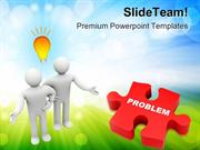 Troubleshooting_Problem_Business_PowerPoint_Templates_And_PowerPoint_B