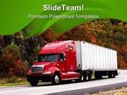 Trucking_In_Autumn_Travel_PowerPoint_Themes_And_PowerPoint_Slides_ppt_