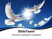 Two_Flying_Doves_Animals_PowerPoint_Templates_And_PowerPoint_Backgroun