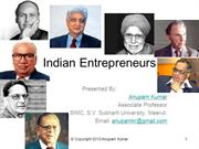 Indian Entrepreneurs