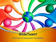 United_People_Globe_PowerPoint_Templates_And_PowerPoint_Backgrounds_pp
