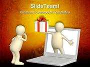Virtual_Online_Gift_Computer_PowerPoint_Templates_And_PowerPoint_Backg
