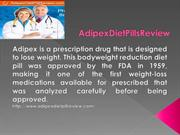How Does Adipex Diet Pills Work