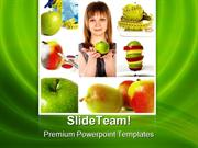 Woman_And_Apples_Health_PowerPoint_Templates_And_PowerPoint_Background