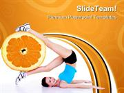 Woman_Exercises_Health_PowerPoint_Templates_And_PowerPoint_Backgrounds