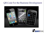 QR Code For Business Development