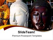 Wooden_Mask_Of_Buddha_Religion_PowerPoint_Templates_And_PowerPoint_Bac