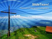 Wooden_Cross_Religion_PowerPoint_Templates_And_PowerPoint_Backgrounds_