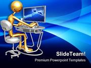 Work_Station_Monitor_Computer_PowerPoint_Templates_And_PowerPoint_Back