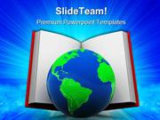 World_In_Book_Education_PowerPoint_Templates_And_PowerPoint_Background