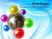 World_Of_Communications_Technology_PowerPoint_Templates_And_PowerPoint