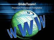 World_Wide_Web_And_Earth_Internet_PowerPoint_Templates_And_PowerPoint_