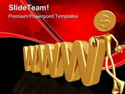 WWW_Dollar_Internet_PowerPoint_Themes_And_PowerPoint_Slides_ppt_design