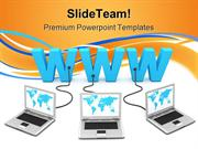 WWW_Networking_Computer_PowerPoint_Themes_And_PowerPoint_Slides_ppt_la