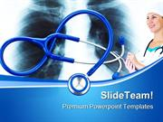 X_Ray_And_Stethoscope_Medical_PowerPoint_Templates_And_PowerPoint_Back