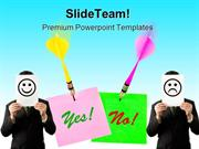 Yes_And_No_Arrows_Metaphor_PowerPoint_Templates_And_PowerPoint_Backgro