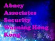 Abney Associates Security Warning Hong Kong - Intego van nieuwe Mac-be