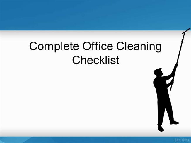 Office cleaning checklist and inspection template | Simpurgo ...